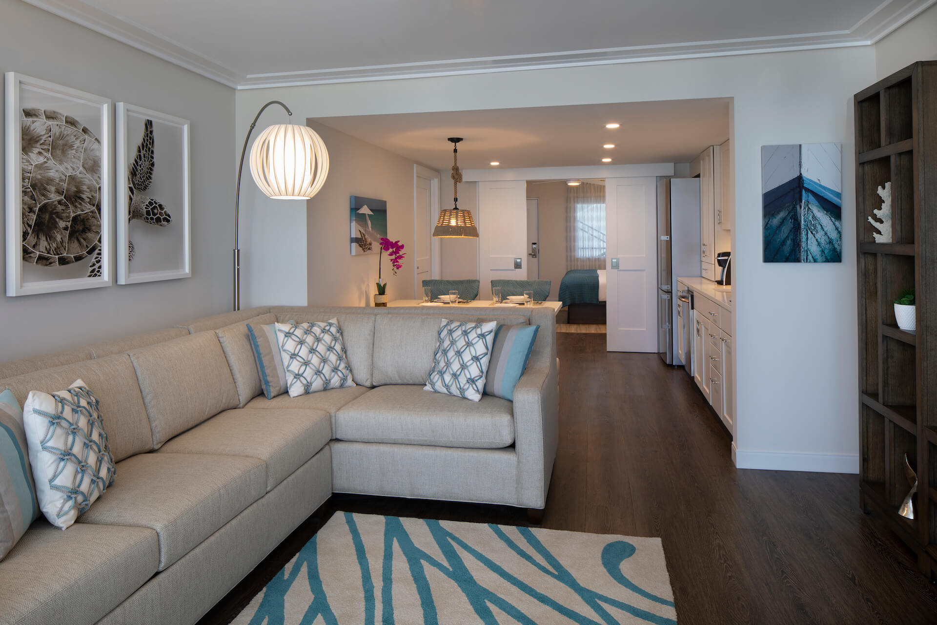 One Bedroom Deluxe King Ocean View Suite