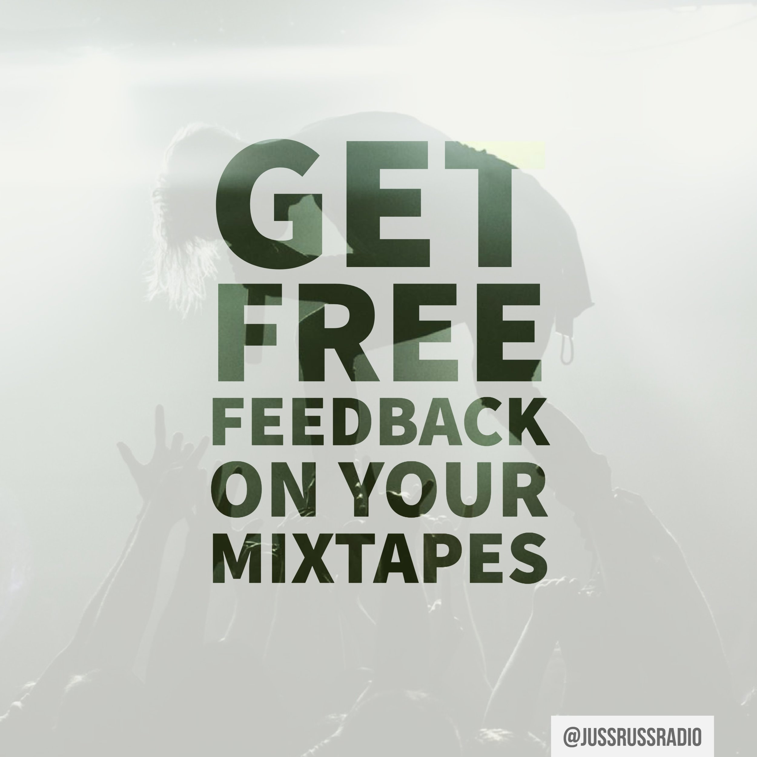 FREE FEEDBACK - Every company should offer their customers something for free with an incentive. Select the button below to be directed to our free Spinrilla promotion page that will allow you to take a few short steps in exchange for free in-depth feedback on your Spinrilla mixtapes.