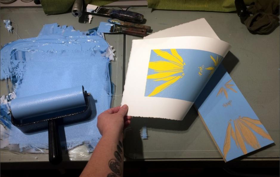 Emily Gray Koehler  - printmaker