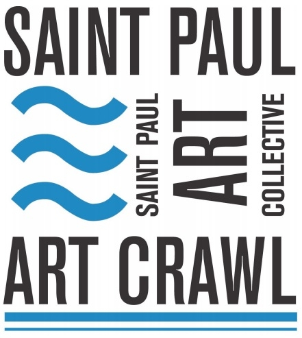 2019 Saint Paul Art Crawl - October 11, 12, 13, 2019 | Friday 6–10 PM, Saturday 12–8 PM, Sunday 12–5 PMThe Saint Paul Art Crawl is firmly established as a cultural event in the Twin Cities. Beginning as a way for artists to share their work with the public by opening their studios, the Art Crawl has become much more than an open-house art exhibit in Lowertown. The Art Crawl now includes music, dance and other performances throughout St. Paul. In addition, an impressive variety of restaurants contribute to the art scene. The venues include artist buildings (cooperatives, warehouses with a large proportion of artist studios, and various other artist groups), as well as galleries, nonprofits, and community businesses. The Saint Paul Art Crawl remains one of the largest and most loved open studio arts events in Minnesota.