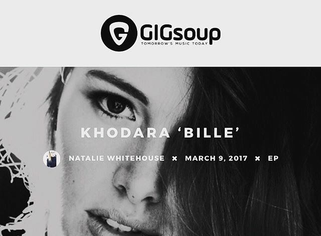 Amazing EP review on @gigsoup by @_natwhitehouse ❤️🌹❤️ || http://www.gigsoupmusic.com/reviews/ep/khodara-bille-ep-review/ #billieep #khodara #khodaramusic
