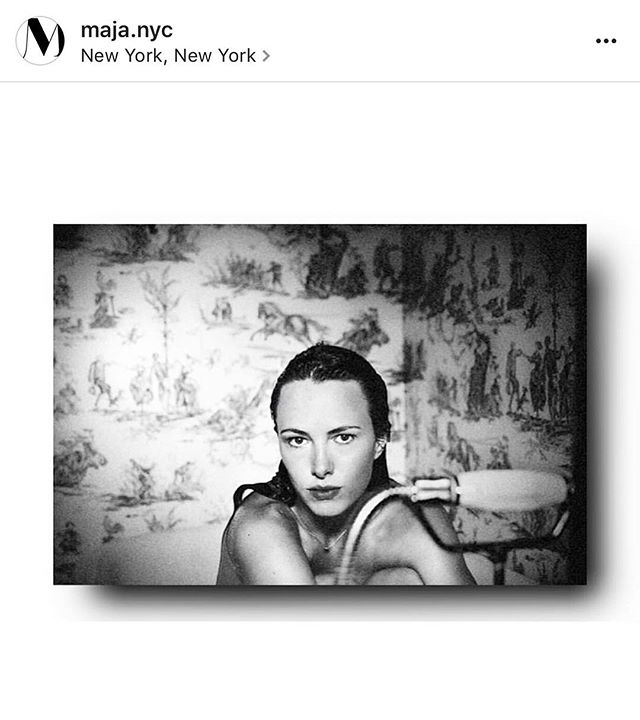 Thanks for the shout-out ❤️ @maja.nyc