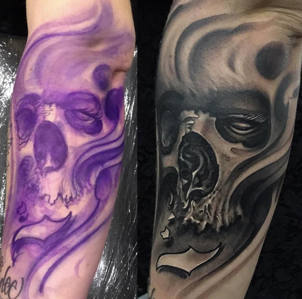Michael Mara Owner Artist Aggression Tattoo