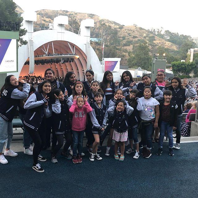 Hope everyone had as much fun as we did !!!! 💃🏽 #hollywoodbowl #latinasartacademy #latinasartfoundation