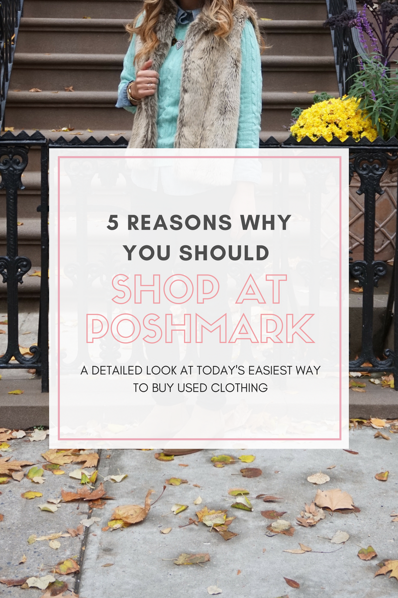 Reasons you should shop at Poshmark for the best deal on used clothing