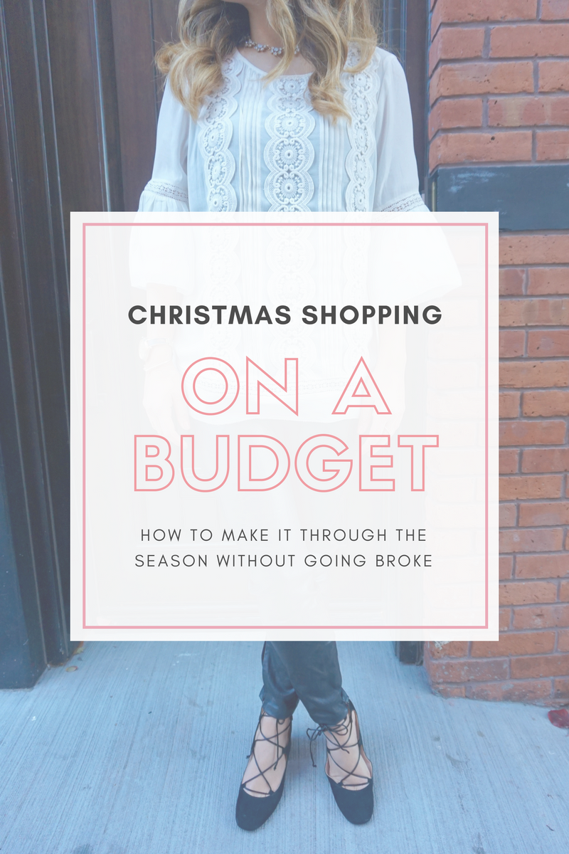 Christmas Shopping on a Budget
