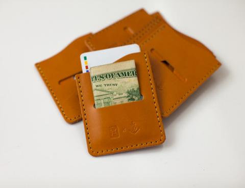6 Special Gifts That Give Back, simplistic leather wallet