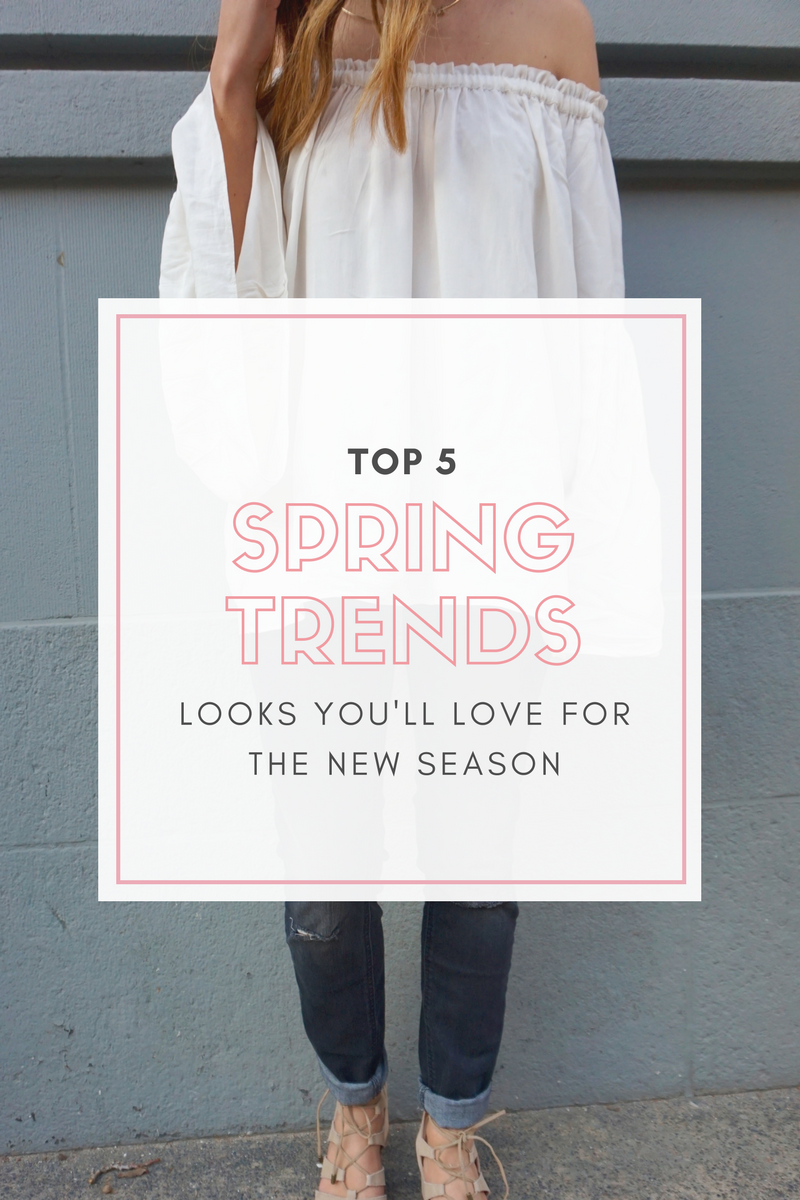 Top Spring Fashion Trends & Looks You'll Love!