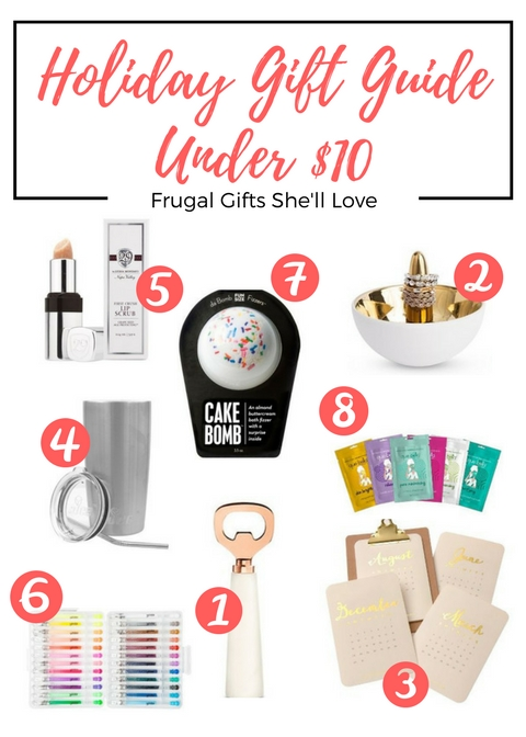 Copy of Makeup Slurge or Save_.jpgHoliday Gift Guide: Gifts She'll Love All Under $10!