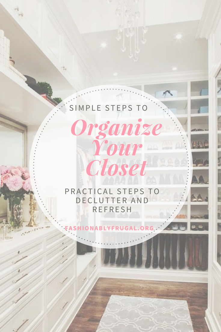 Simple Steps to Organize Your Closet in the New Year!