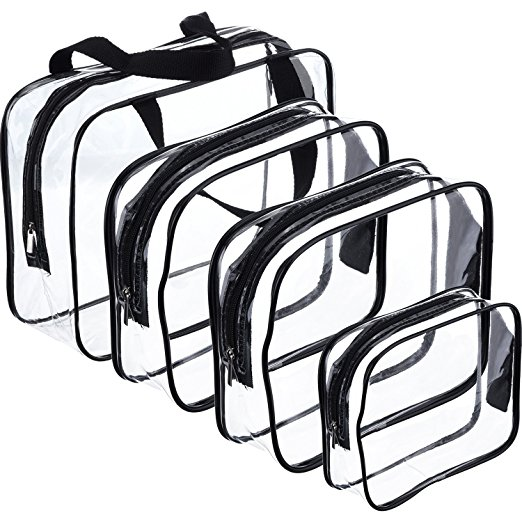 Clear Toiletry Bags - $12.99