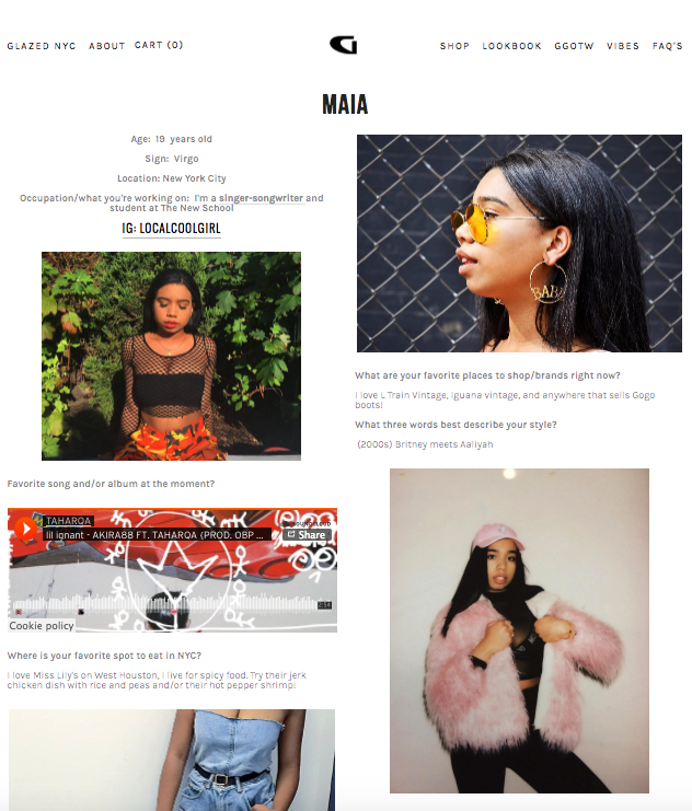 Glazed Girl of the Week for Glazed NYC  , See full interview here!