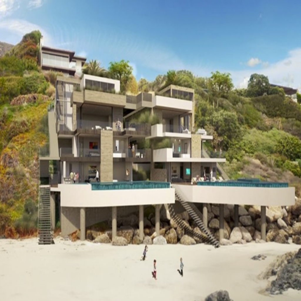 Malibu Beachfront Homes