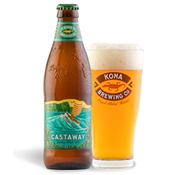 Castaway - Take a sip of this copper-colored India Pale Ale and you'll taste bold, citrusy hops with a touch of mango and passionfruit balanced by rich caramel malts. Castaway IPA has a clean, crisp finish that's as fresh as the wind in your face when you set sail for adventure.