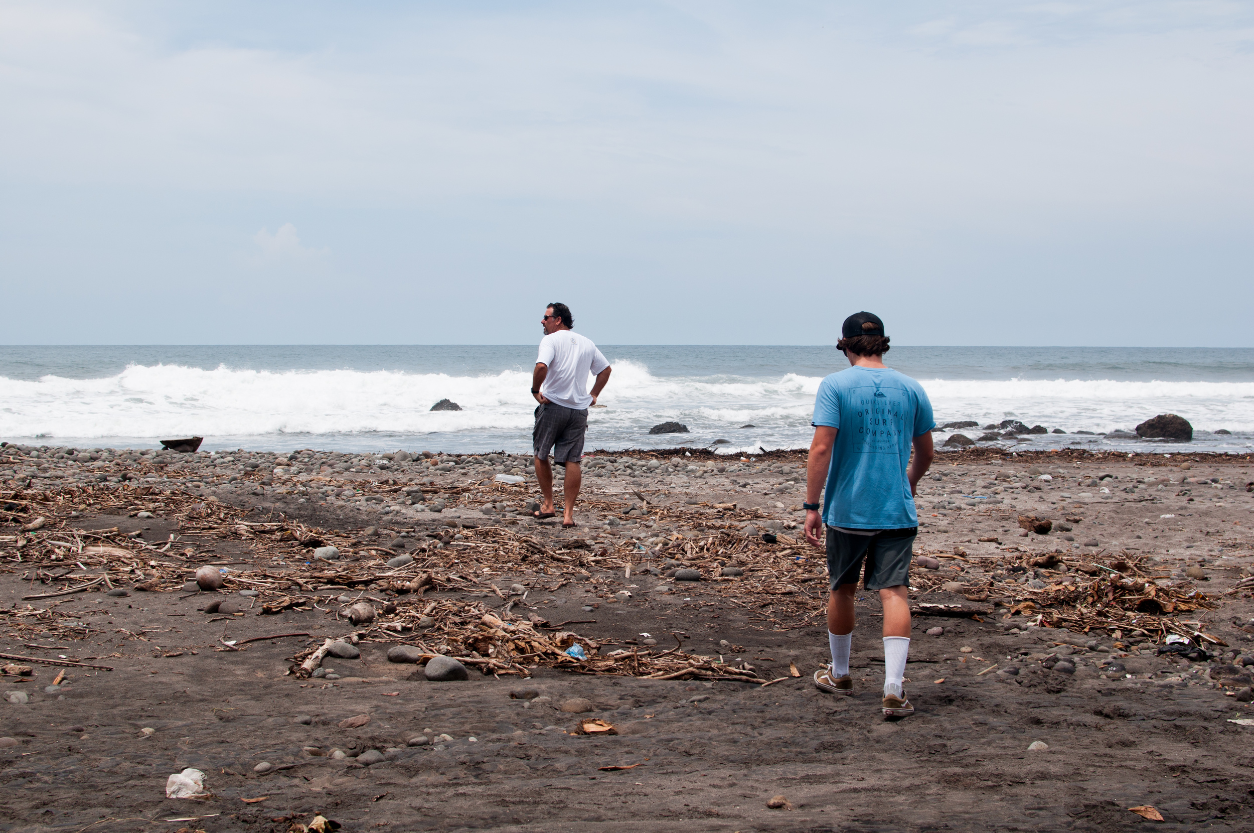 THE SURF GUIDE TOOK US TO SEE A COUPLE OTHER SPOTS, YOU COULD REALLY SEE THE POVERTY