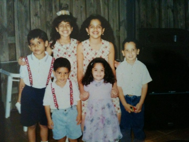 My brother & cousins