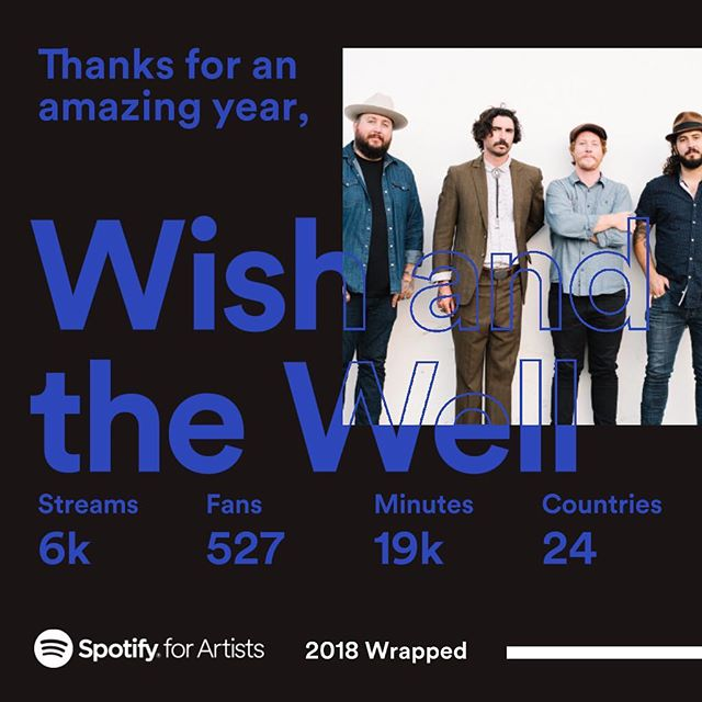 Thanks for all the support this year friends. Here's to 2019!