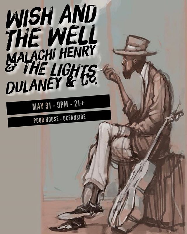 We got a lil summer surprise for y'all. We'll have the full band together for one epic night at @pourhouseoceanside with our friends @malachihenryandthelights and @dulaneyandco. Hope to see ya there!