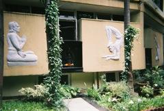 Shrine at Ramamani Iyengar Memorial Yoga Institute, Pune, India