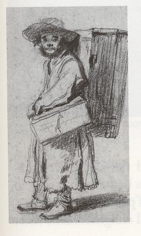 itinerant magic lantern man