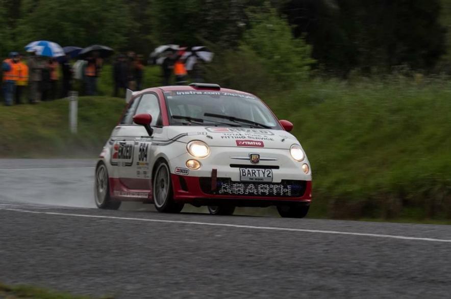 Mike Lowe Targa Rally Abarth 500