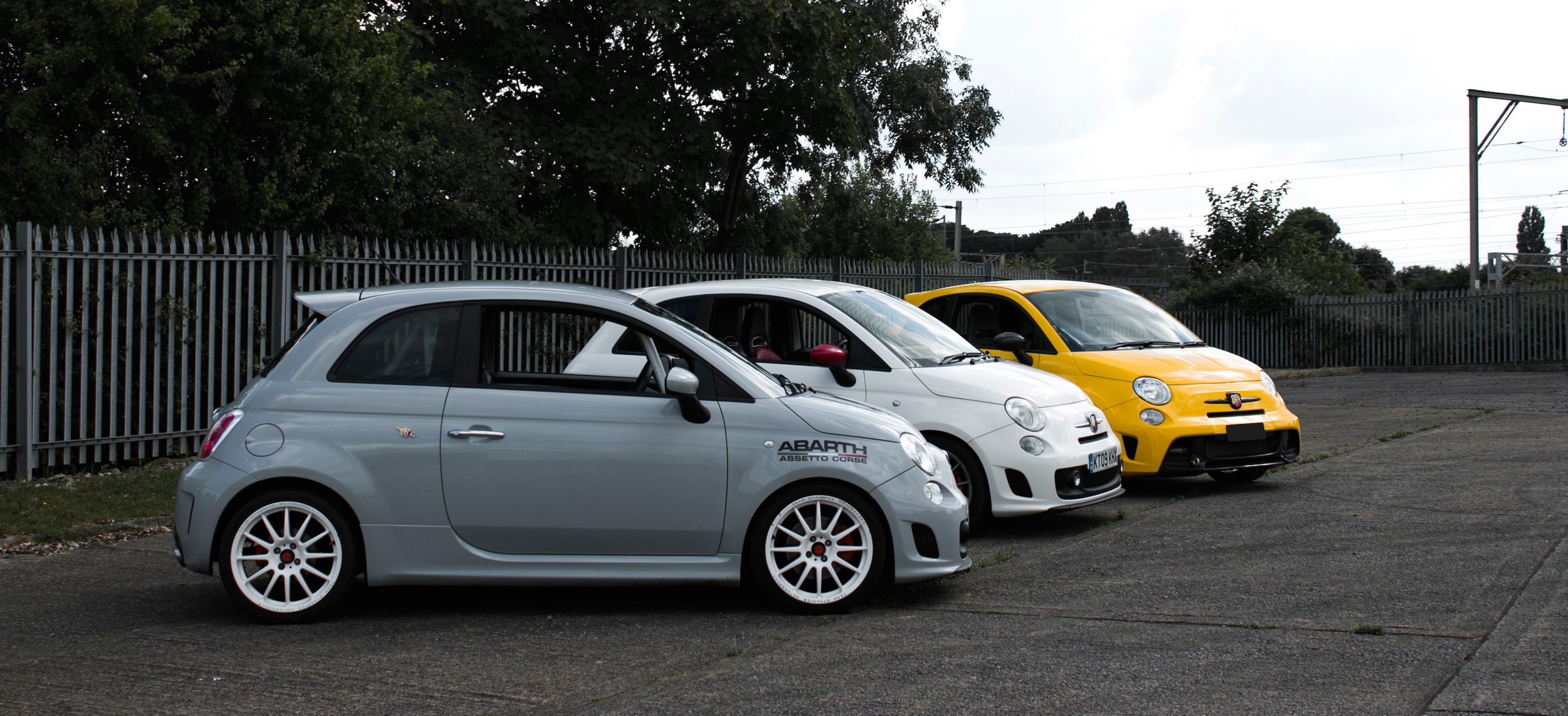 Our development cars