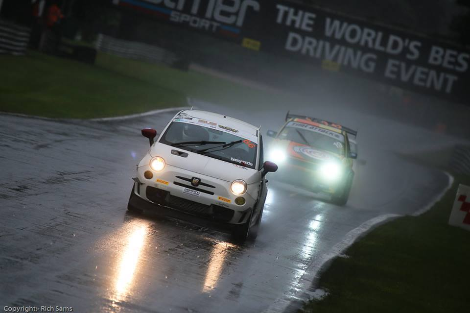 Marten Bonner - who placed 3rd in his class at Round 4 of Time Attack using a development TT Turbo