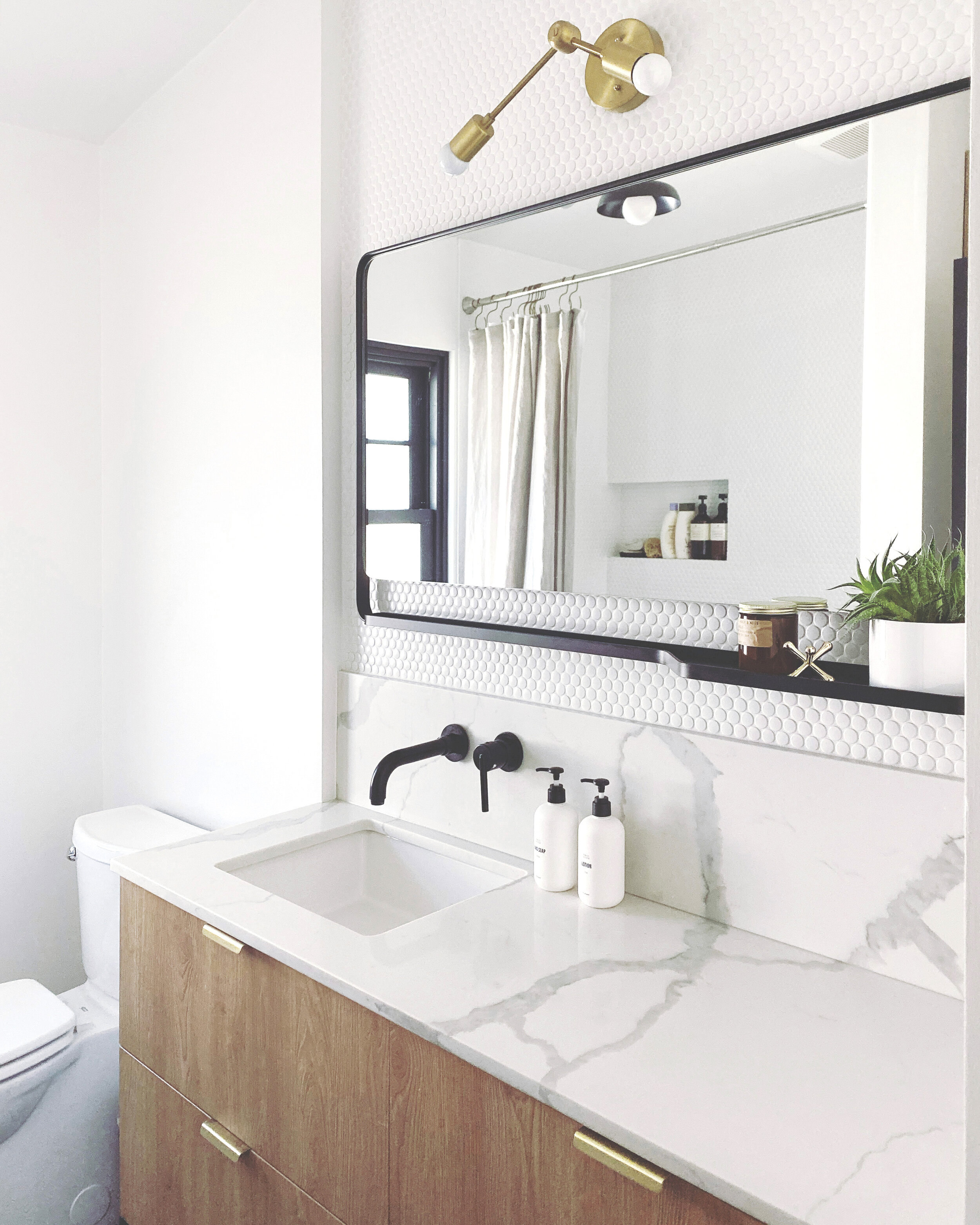 Bathroom Reveal + before and after — its leal love