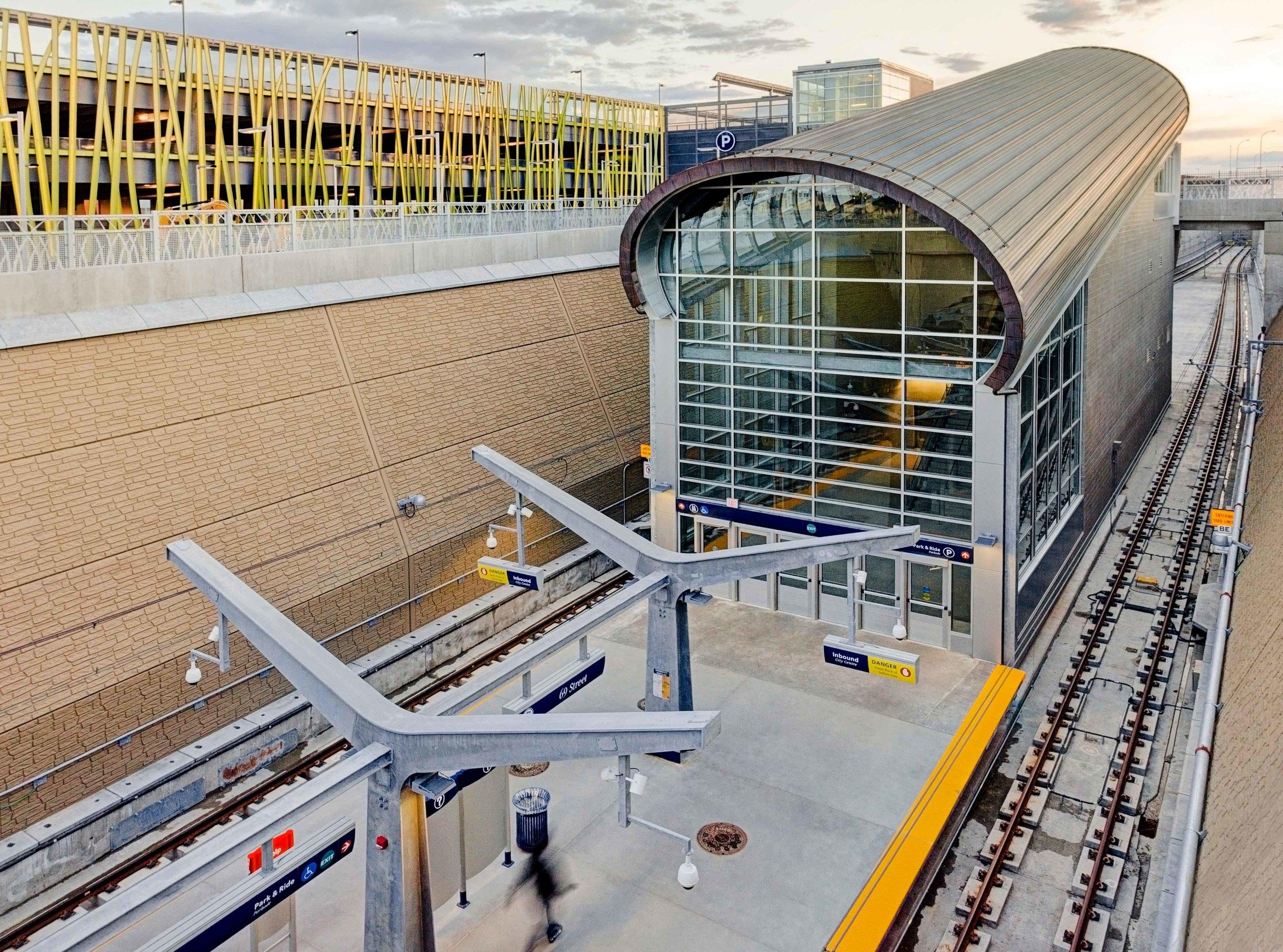 69th Street LRT Station