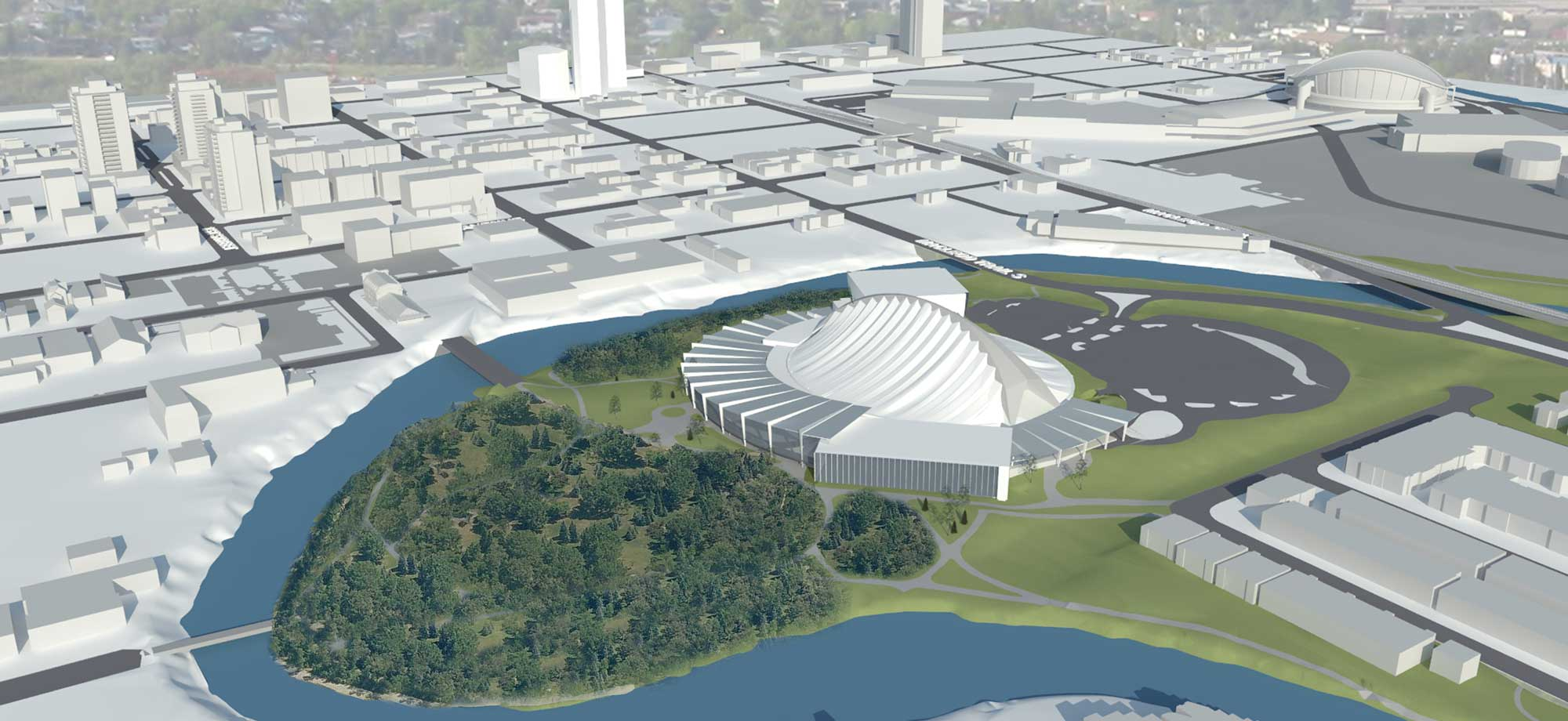 Repsol Sports Centre Master Plan