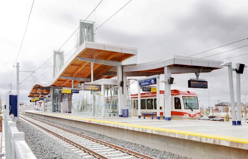 Saddletowne LRT Station