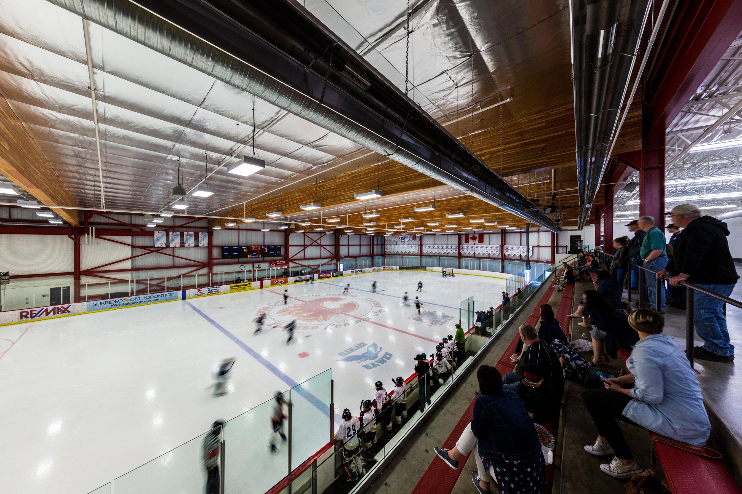 Flames Community Arenas