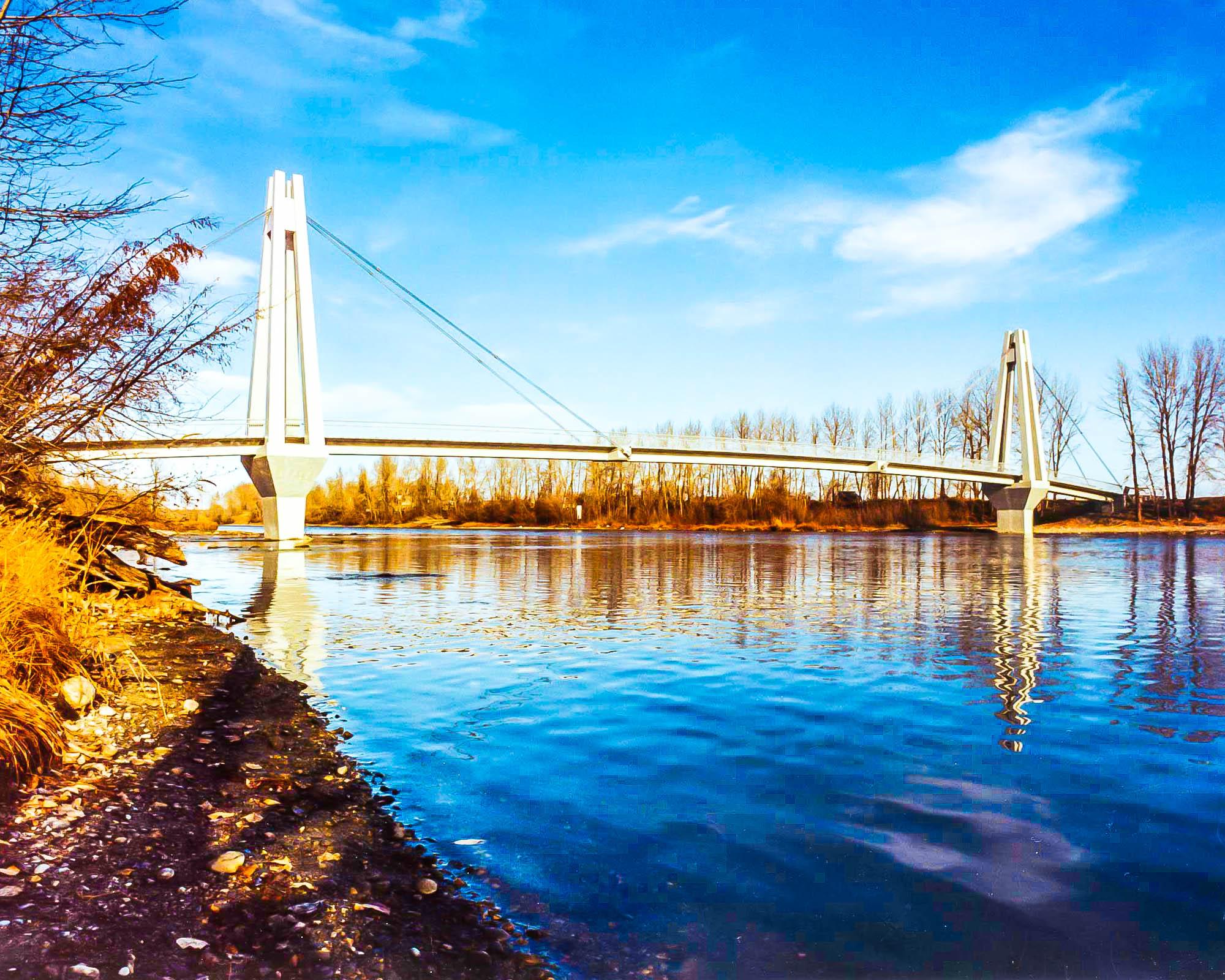 Carburn Park Bridge