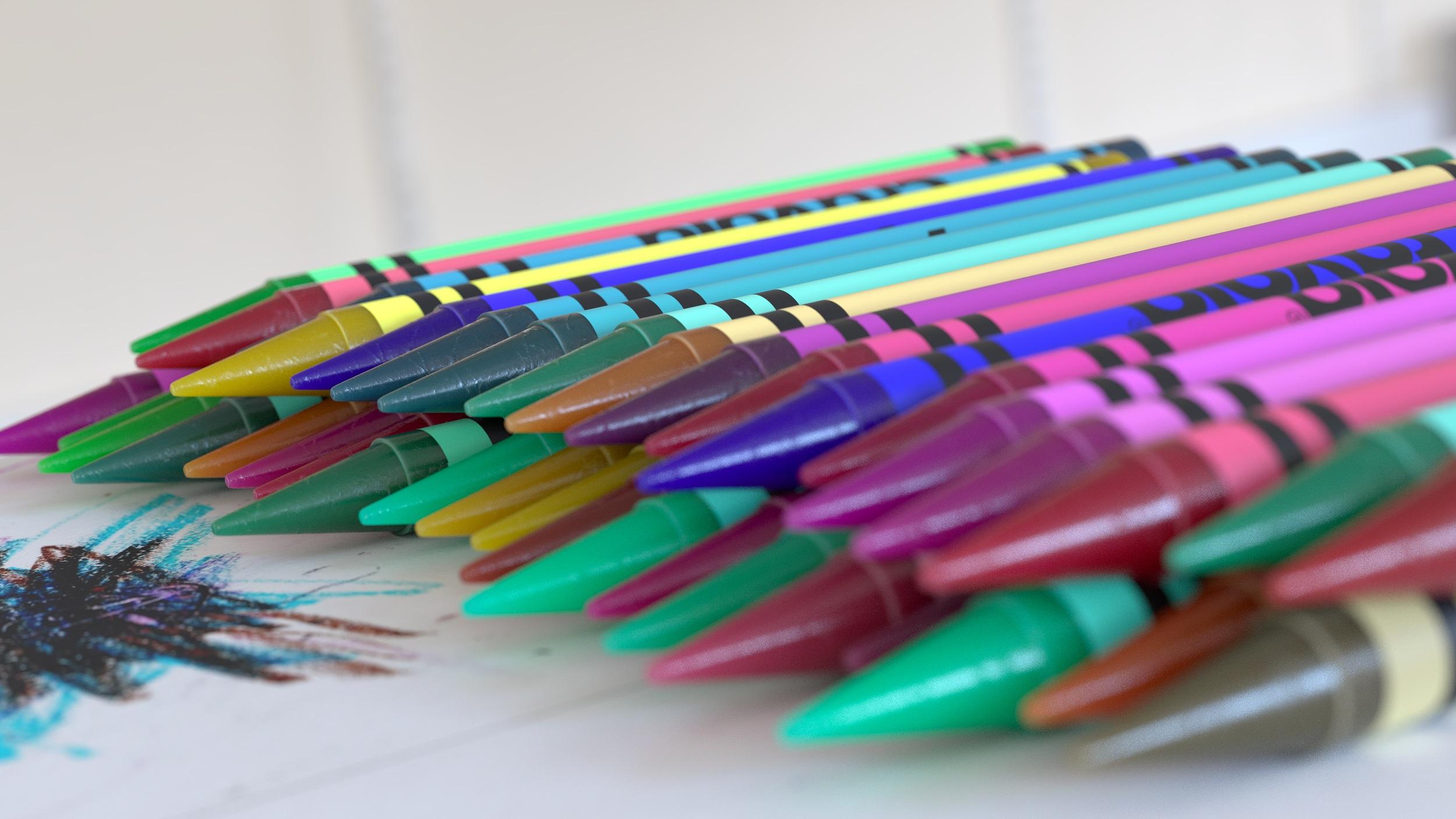 Crayons Many 5.png