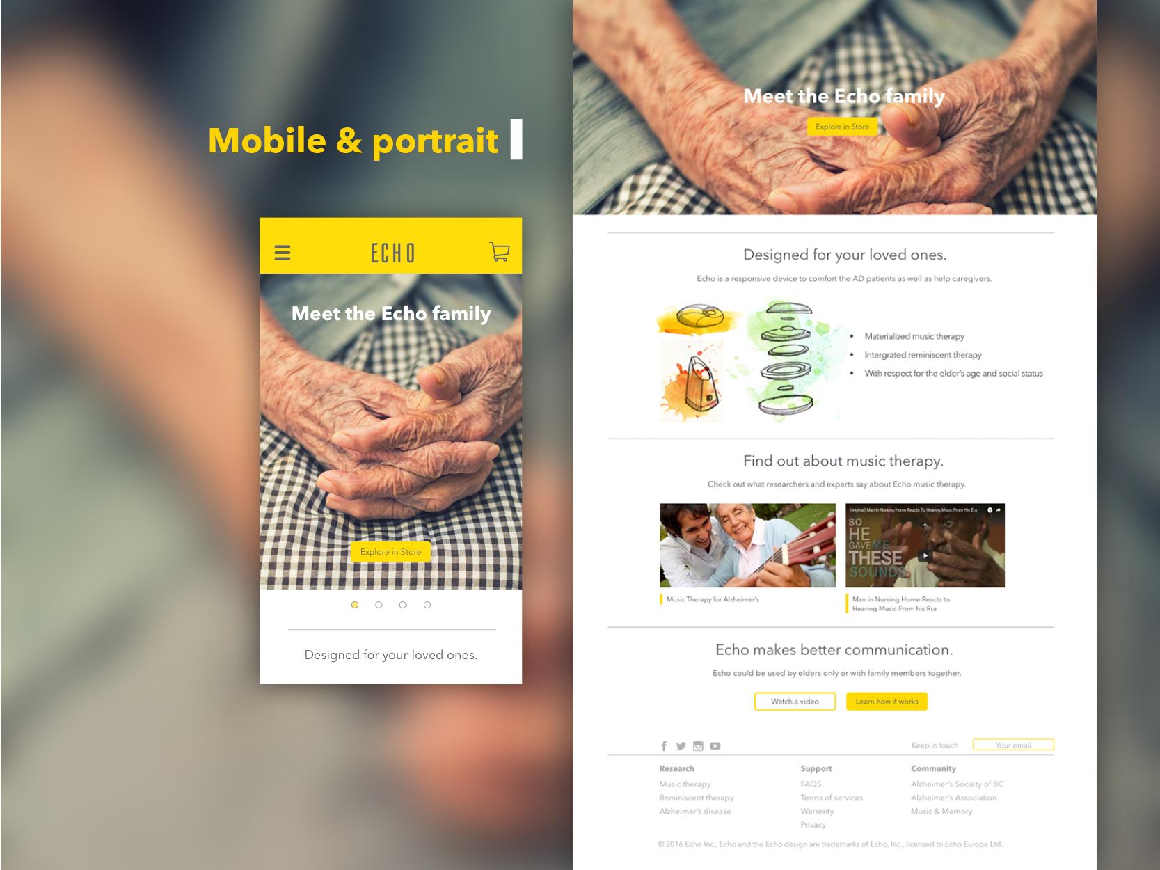 Website Design: Echo