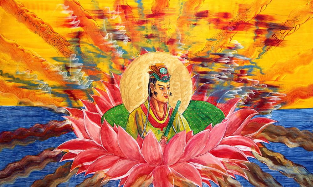 Dragon Emperor on Lotus ·  Read more