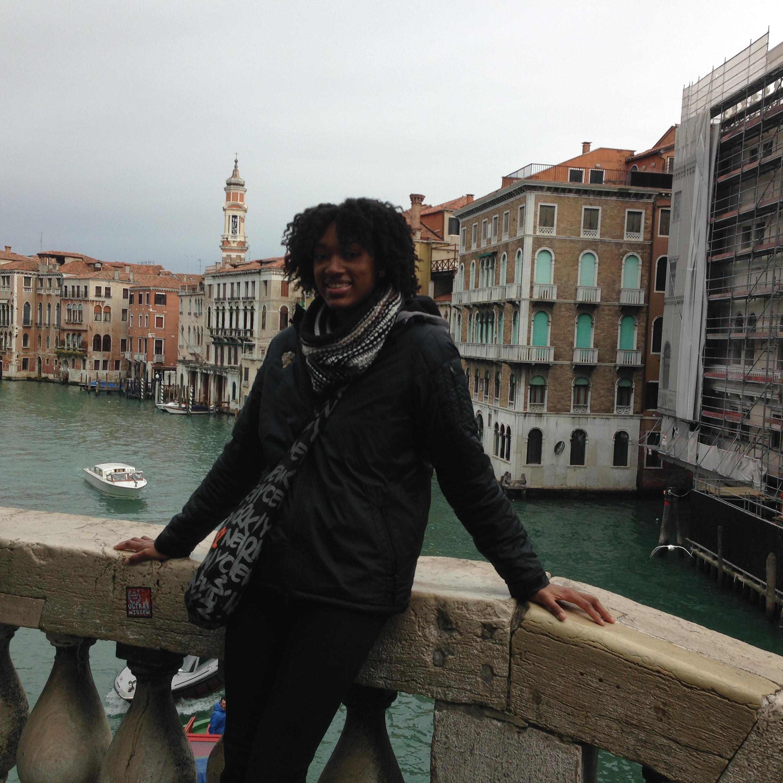 Just posing on a bridge!