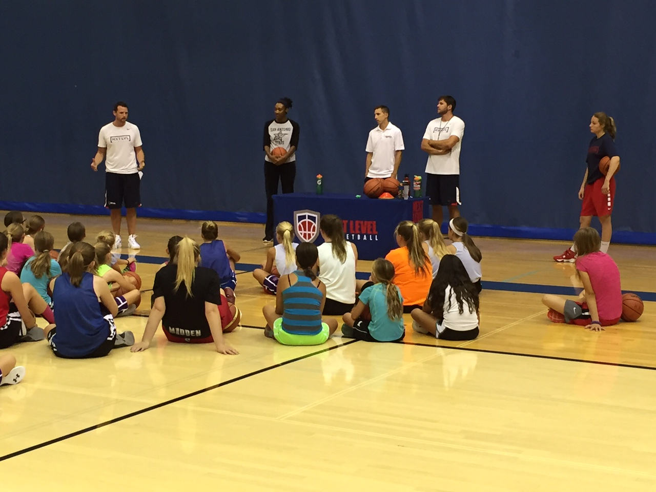 Wrapping up the clinic with some final words of encouragement followed by a Q&A!