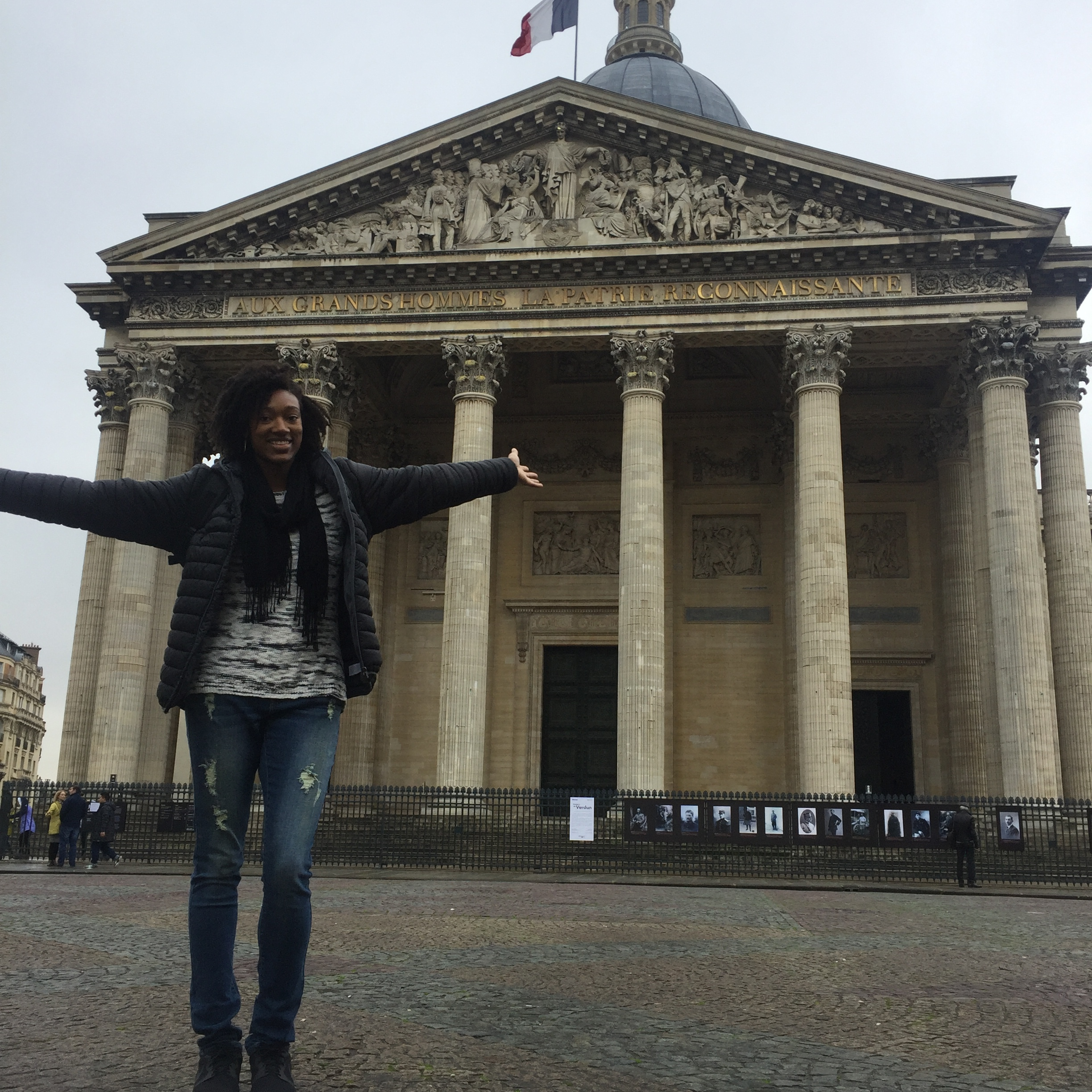 Ladies and gentlemen, The Pantheon! Also rocking my Talltique jeans here!