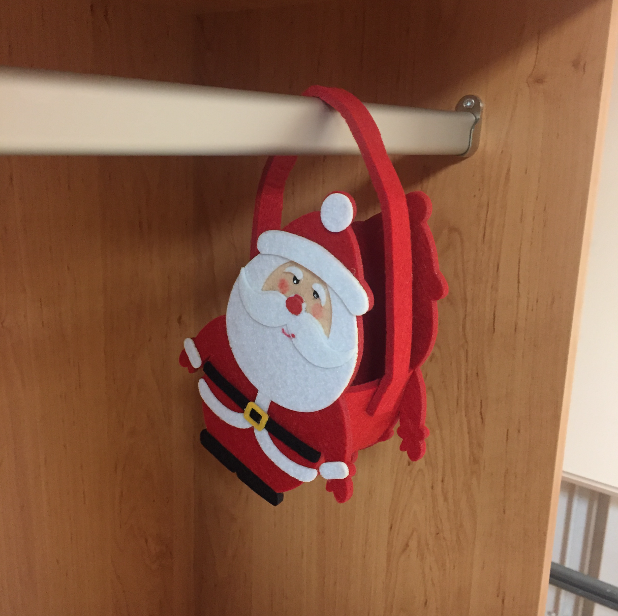 One of my teammates cute little santa bags!