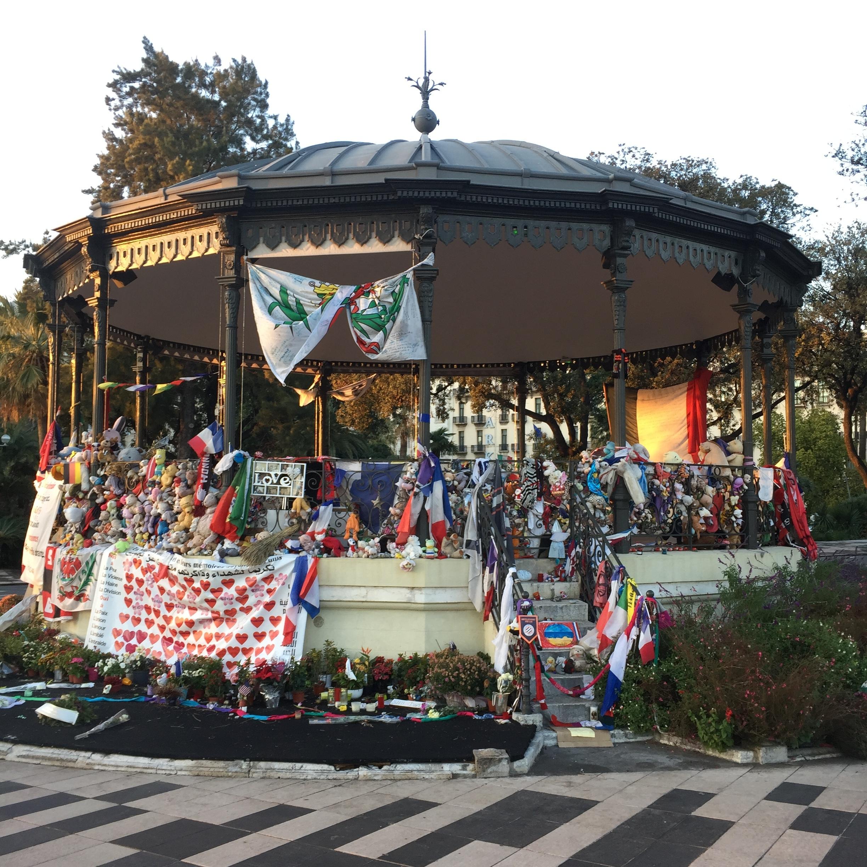 The memorial.