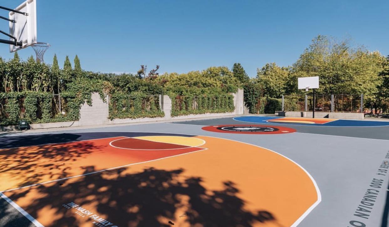 The Nash family Court. Photo courtesy of NBA Canada.