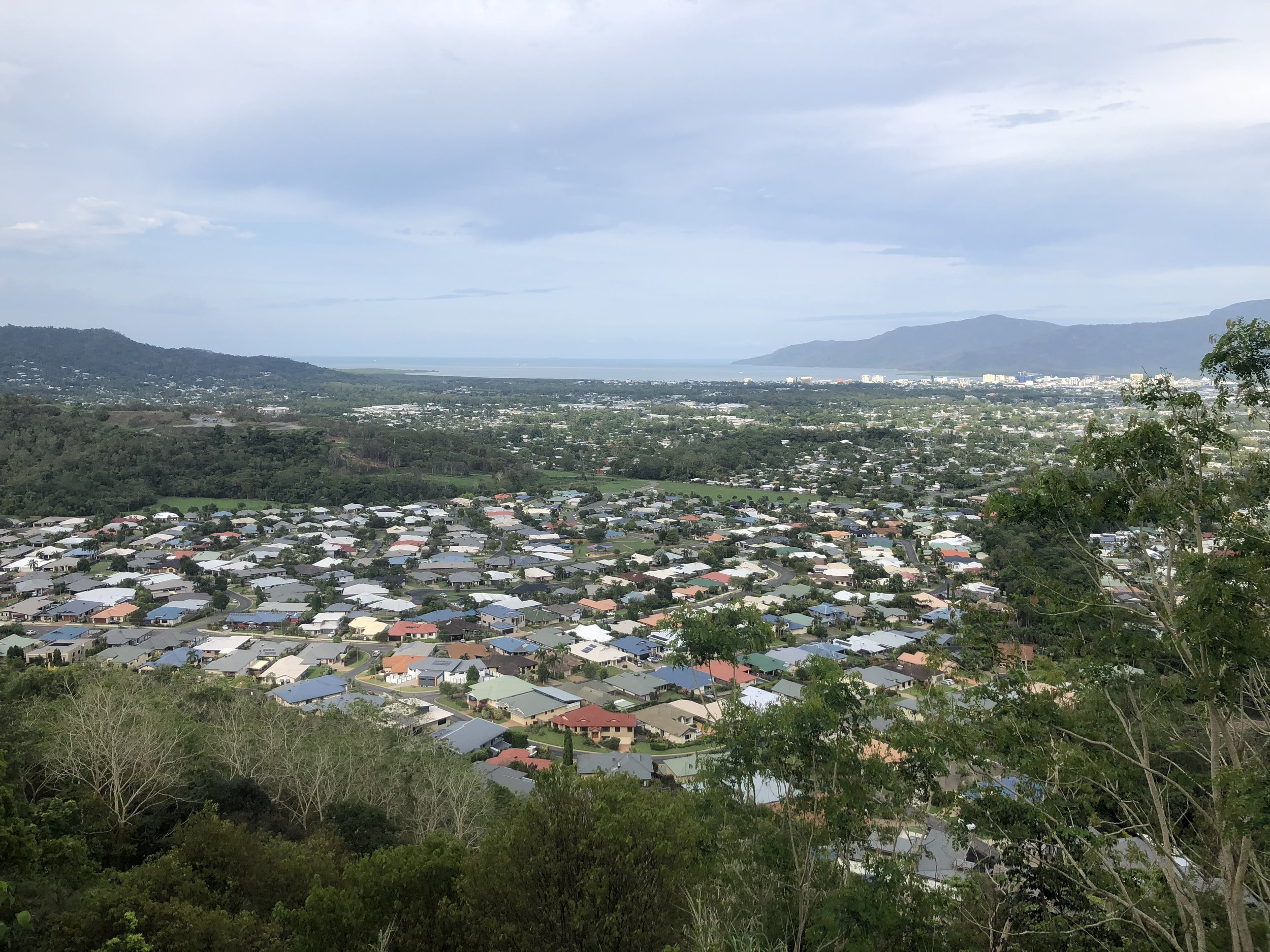 Views of the city of Cairns!