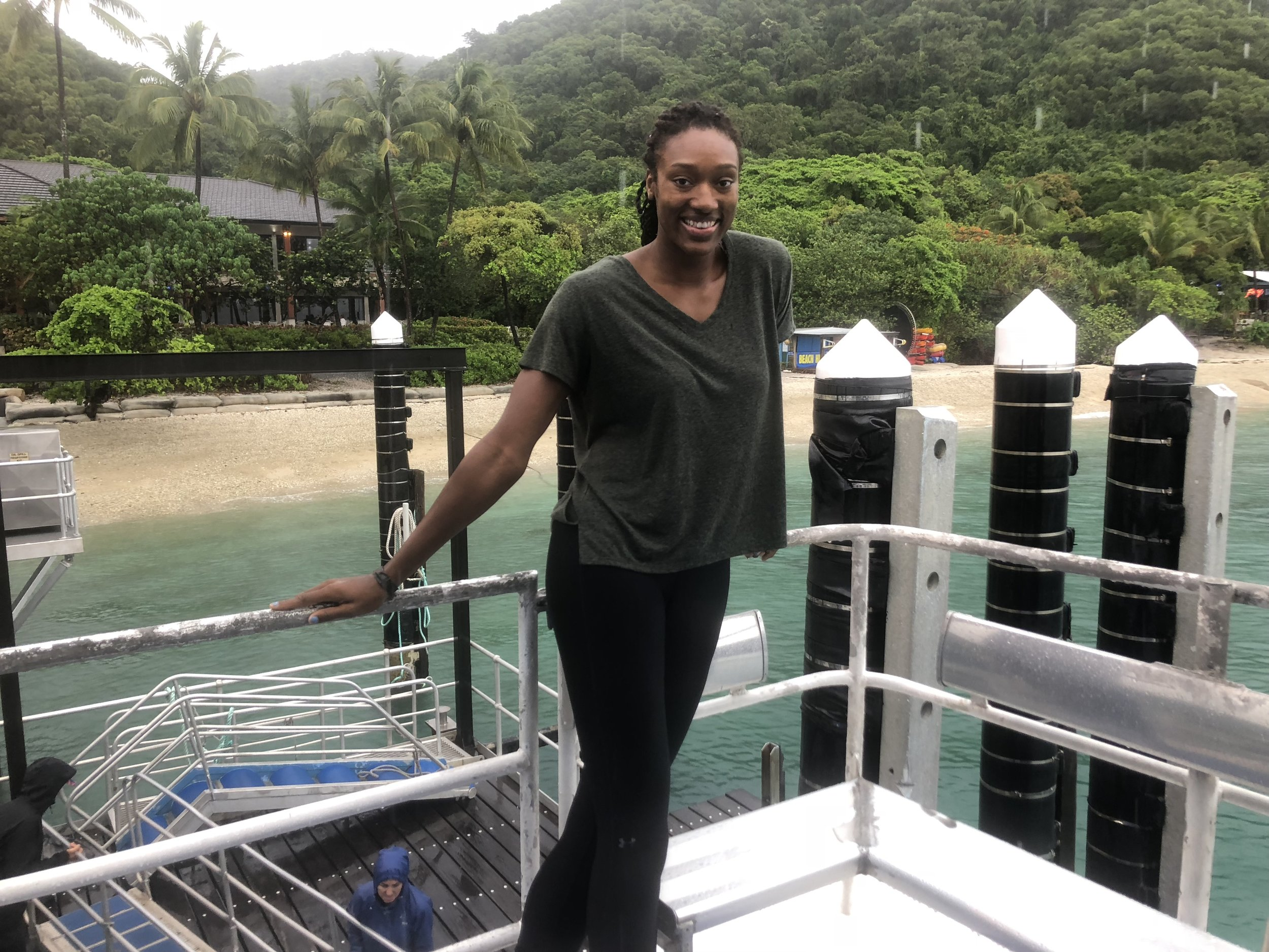Picture in front of Fitzroy Island!