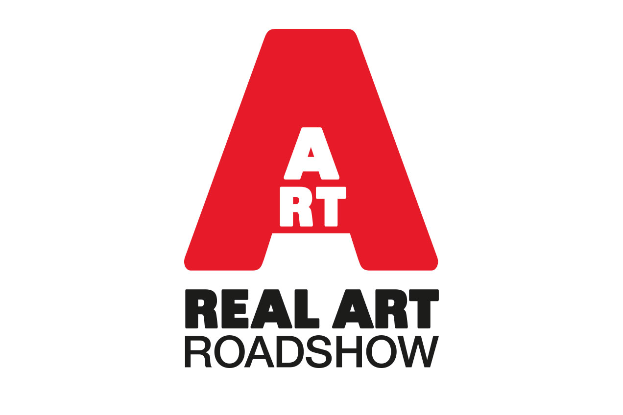 Real Art Roadshow logo