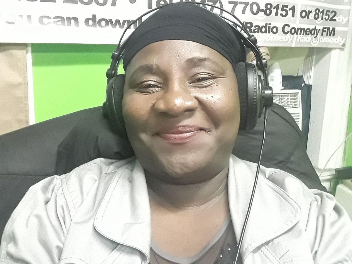 Berlotte, pictured hosting the Brase Lide Radio Show.