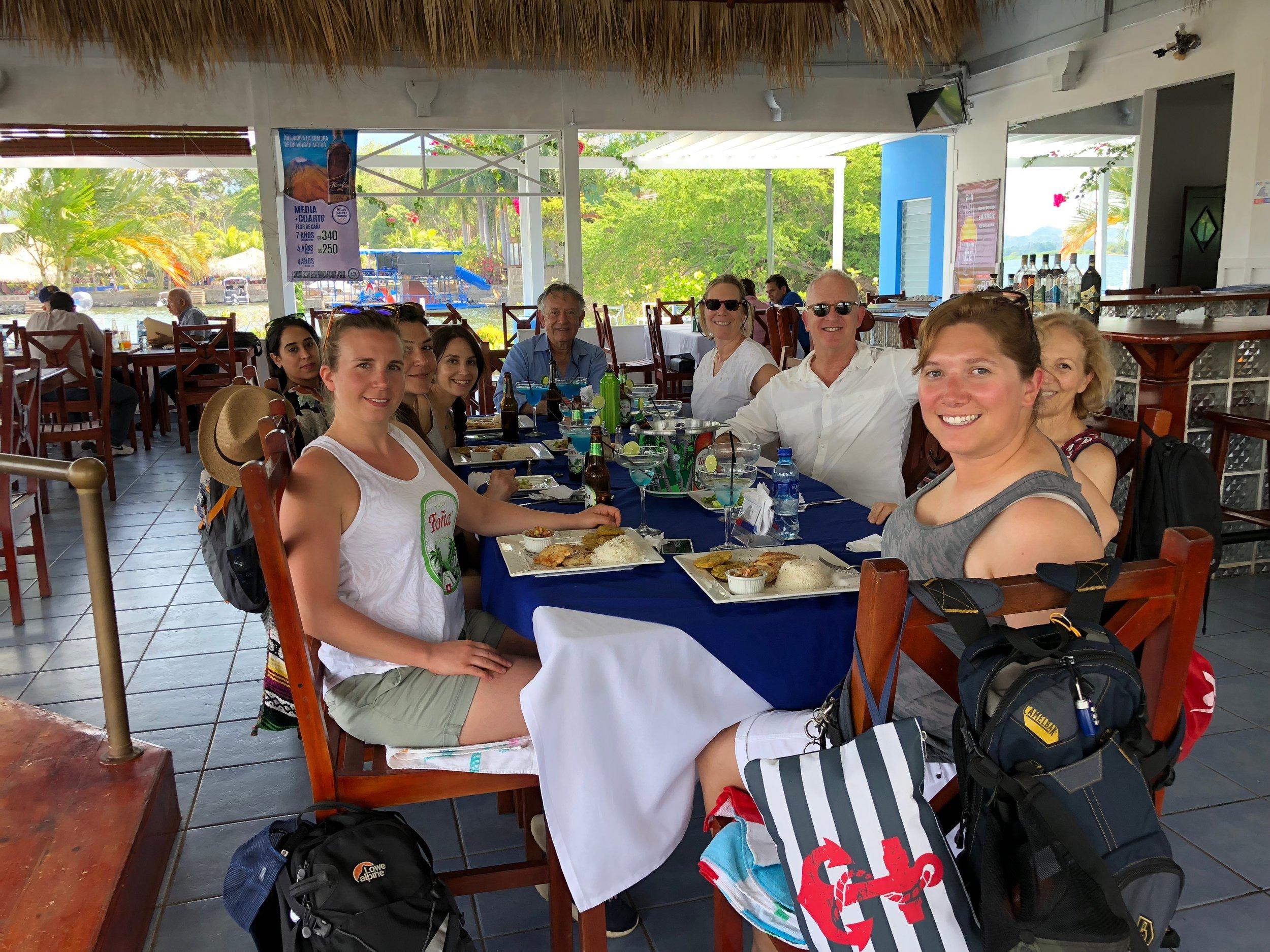 Day 4: Isletas de Granada lunch