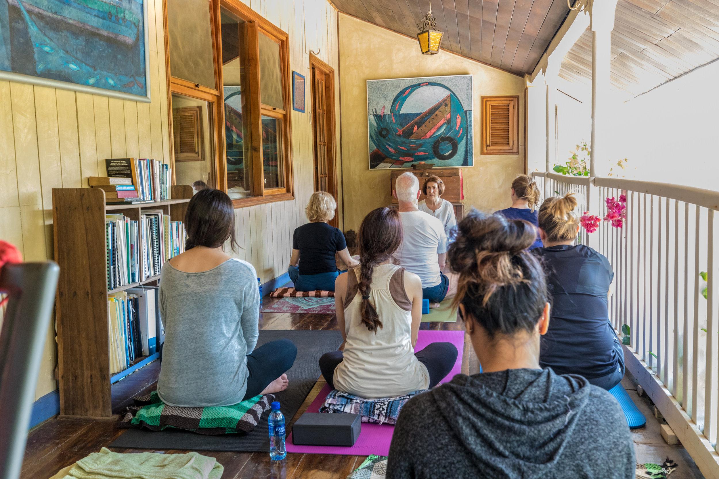 Day 1: Farm tour & yoga