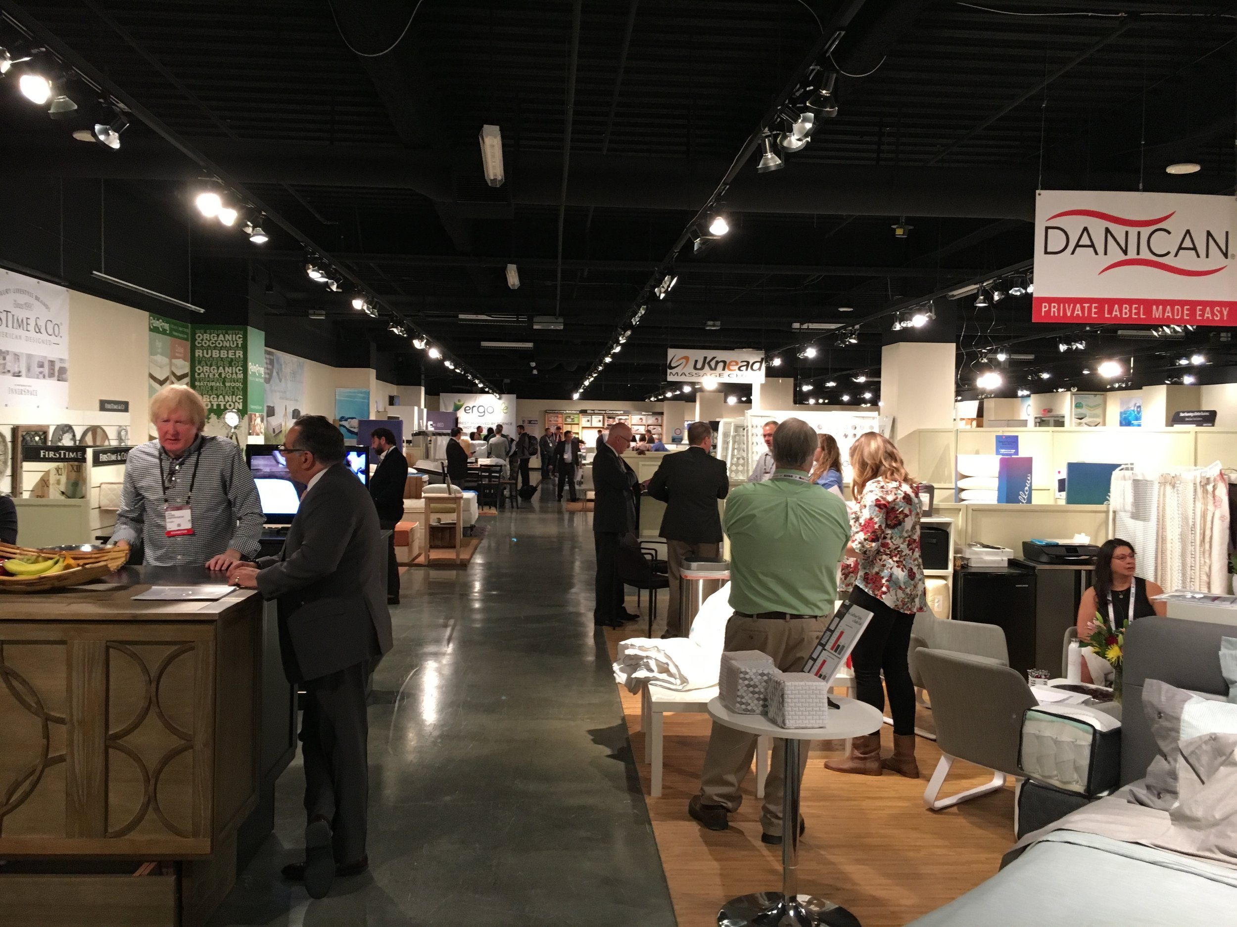 The busy SSA Showroom