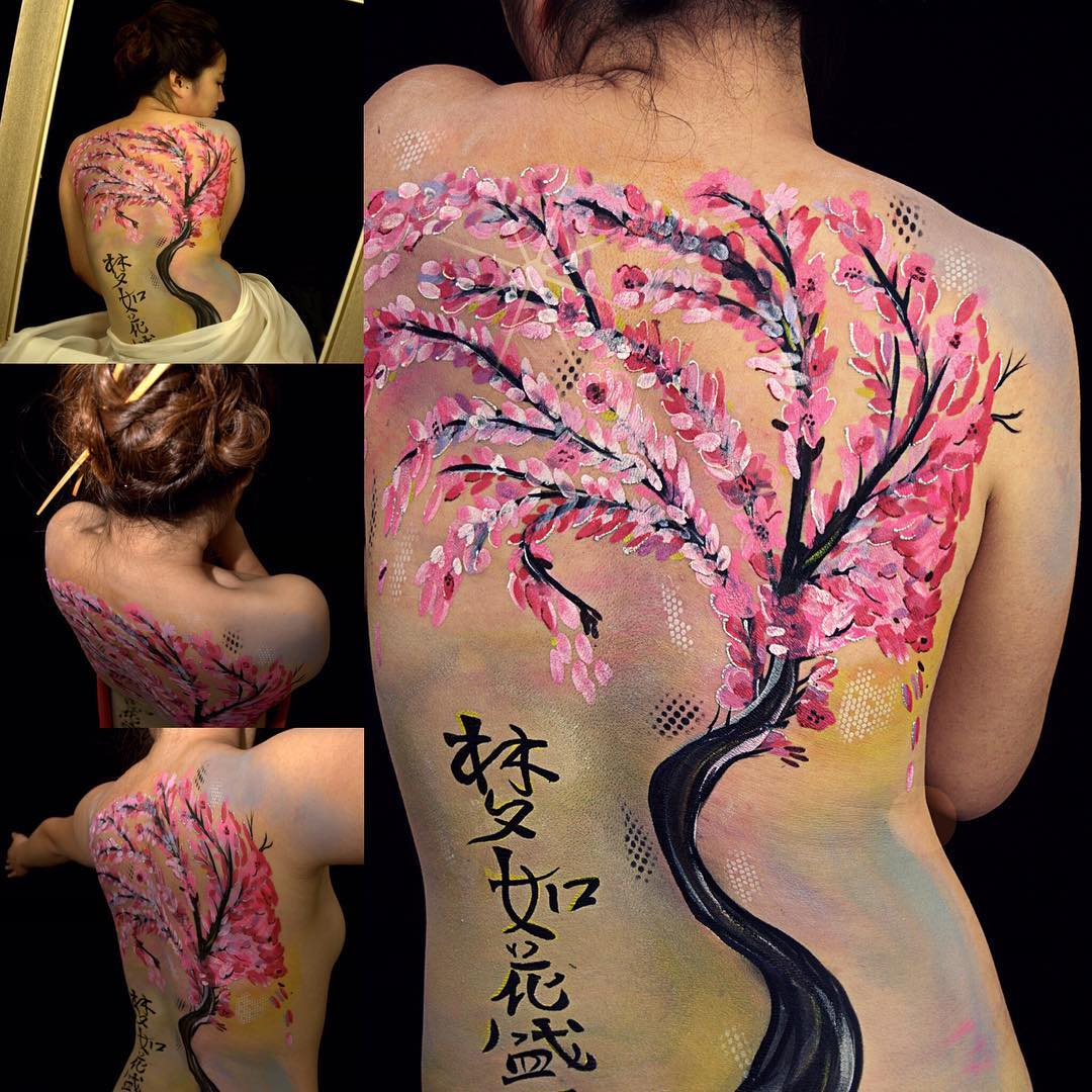 The Painted Pixie Body Painting Ottawa